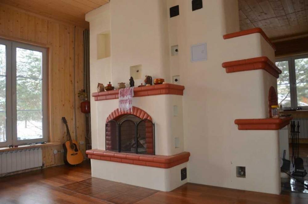 Камины своими руками для двухэтажного дома
