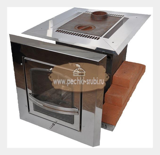 Печь жар-птица с двумя теплообменниками купить теплообменник для газового котла худроста